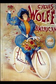 Vintage American cycling poster - Wolff Cycles